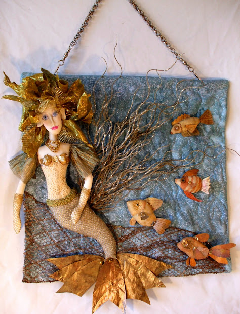 Laura' Creations & Funstuff Steampunk Mermaid