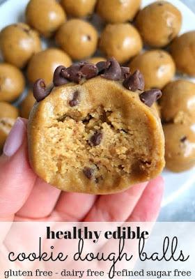 Healthy Cookie Dough Balls
