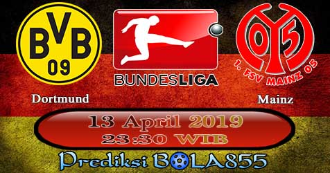 Prediksi Bola855 Dortmund vs Mainz 13 April 2019