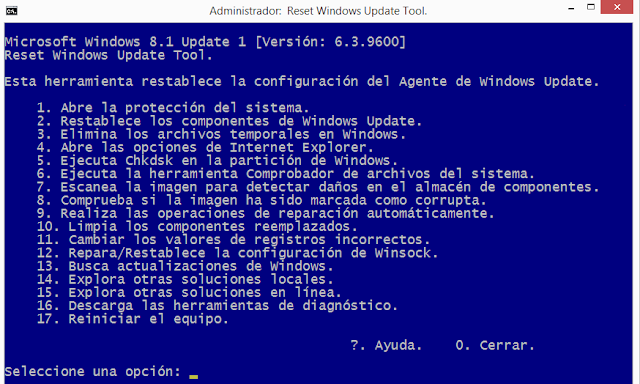 Windows update no funciona