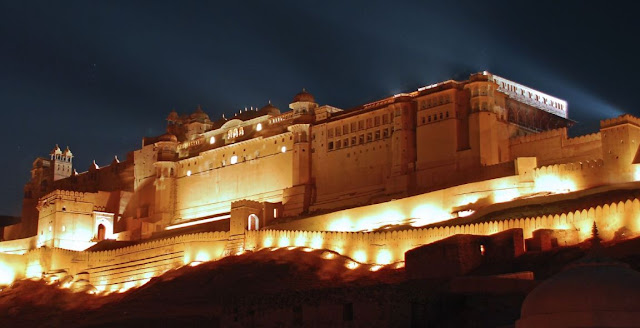 Amber-Fort-in-jaipur-in-night