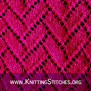 Nice Stitch Pattern for Baby Sweater/ Blanket/ Shawl