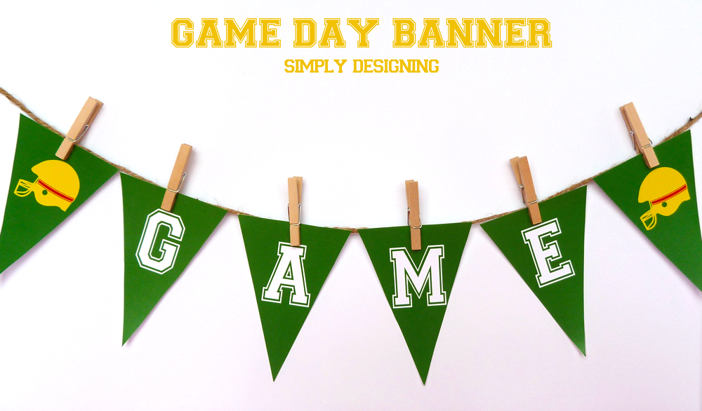 #ad Game Day FREE Printables | #SuperMoments, #cbias #printable #gameday