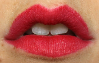 NARS Velvet Matte Lip Pencil in Dragon Girl lip swatch