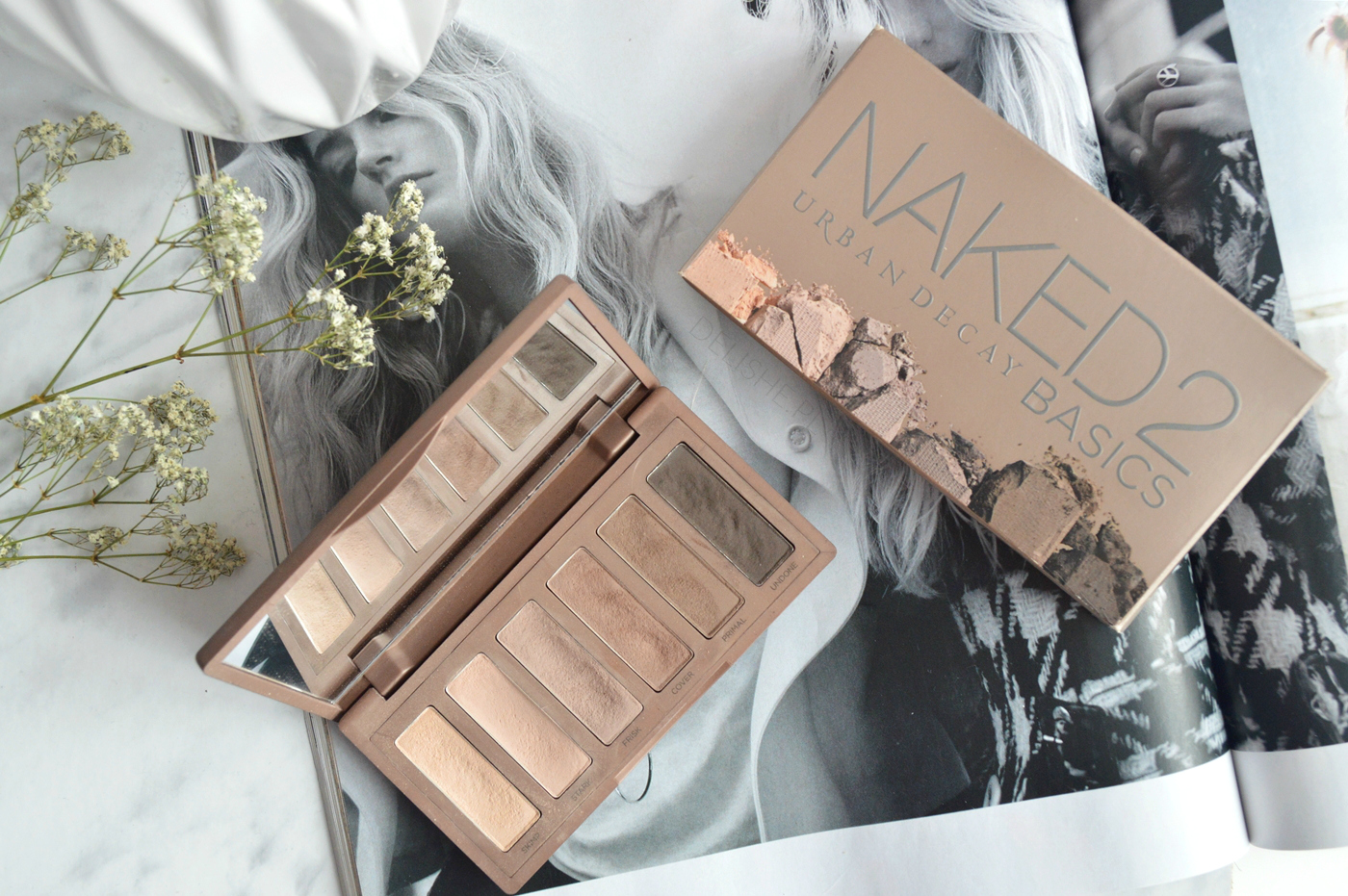 naked basics2 urban decay paleta blog