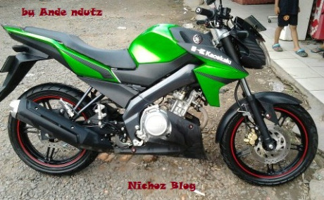 modifikasi new V-ixion