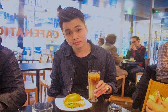 Ray Tan 陳學沿 (raytansy) ; Cafenatics @ Melbourne, Victoria, Australia 澳洲 澳大利亞 墨爾本 西式早餐