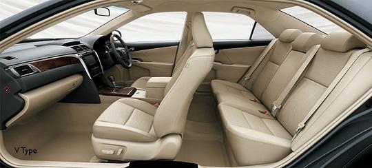 Interior Toyota Camry Tahun 2018