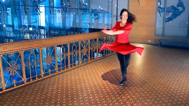 Danseuses Sophie Heine - Chanson de Ben Heine - Nuit Blanche 2017