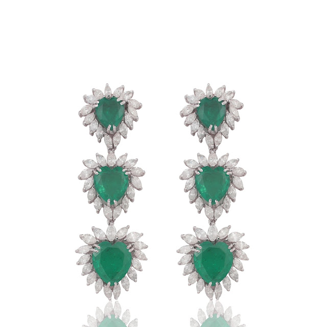 Dillano Jewels Emerald jewellery collection (Earrings)