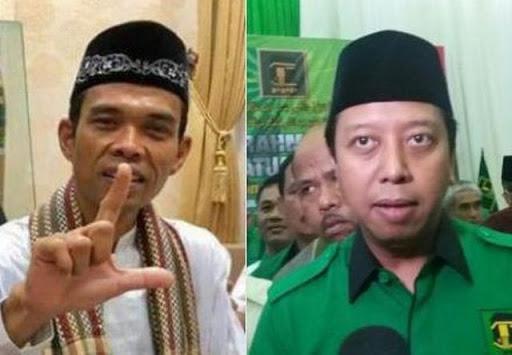 Ketum PPP, Muhammad Romahurmuziy sedang berjuang keras mendekati Ustadz Abdul Somad (UAS) agar penceramah tenar itu netral.