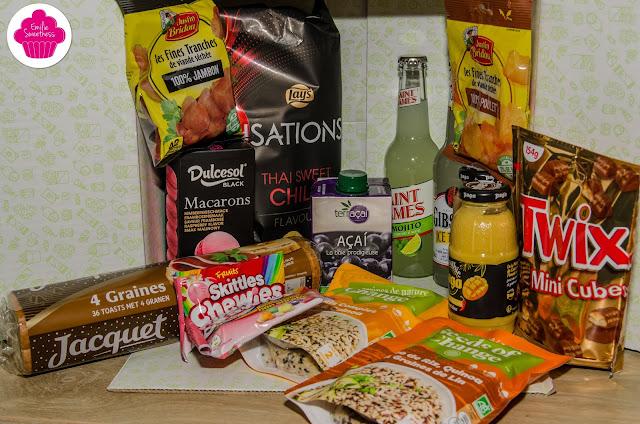 Degusta box de décembre: Fête de fin d'année, contenu et avis