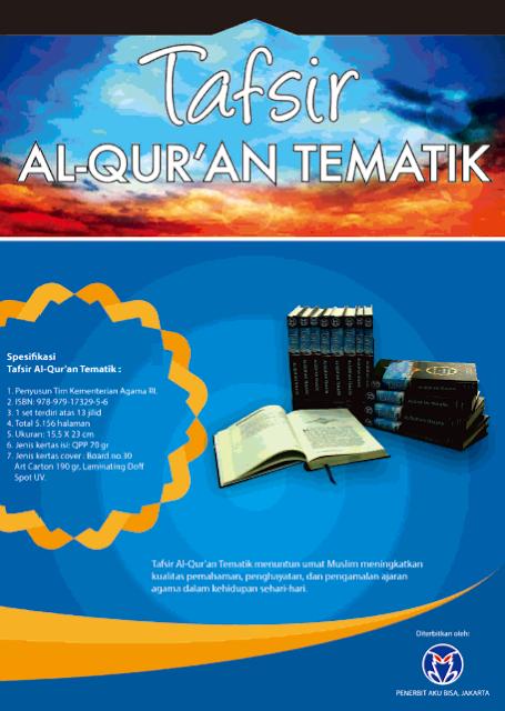 Jual Tafsir Al-Qur'an Tematik