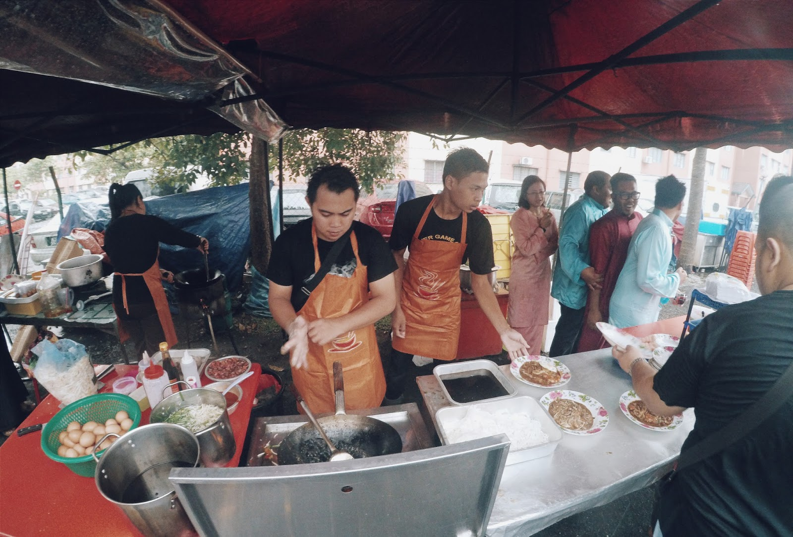 Photo Taken From Http Www Sayaiday 2017 08 Tudia Char Kuey Teow Basah Ketam Html