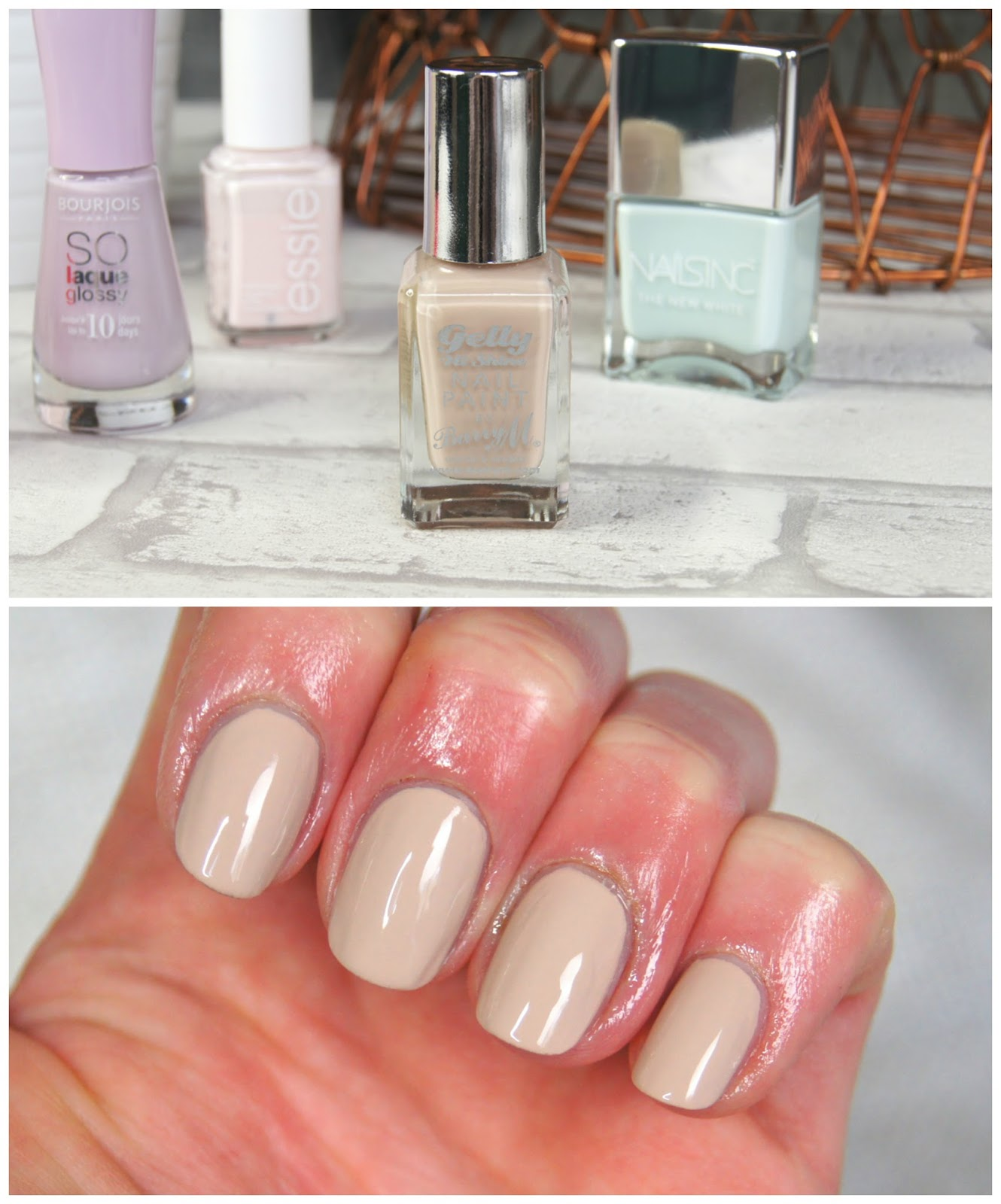 barry m lychee nail polish spring neutral nude
