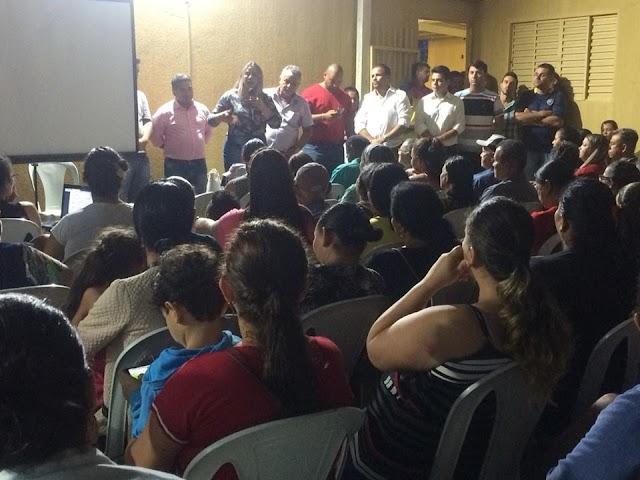 Senador Canedo: Reunião discute andamento das obras do Residencial Santa Edwiges