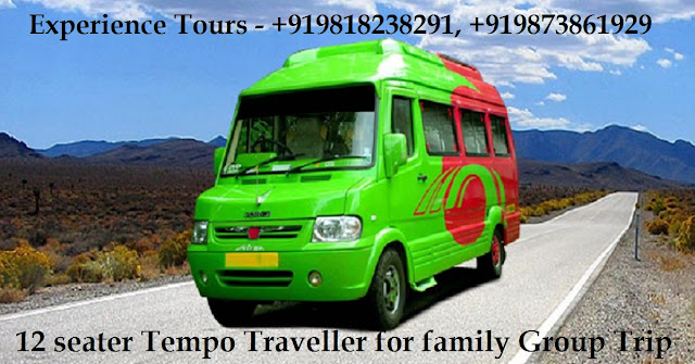 12 seater Tempo Traveller Hire service in Delhi for group Journey