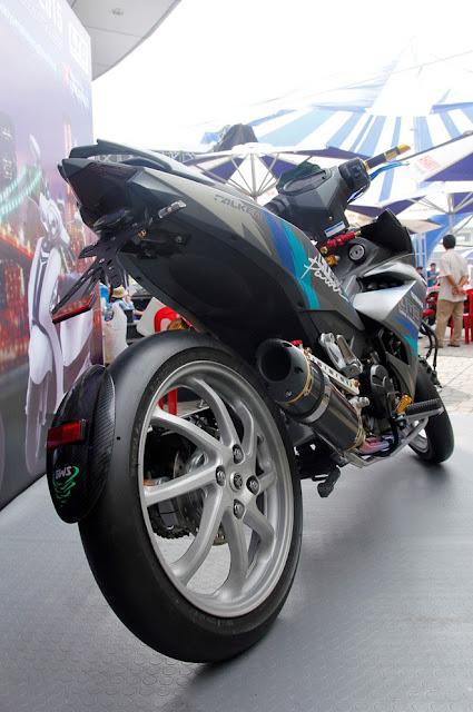 Exciter 150 sơn nhám Lamborghini cực ngầu