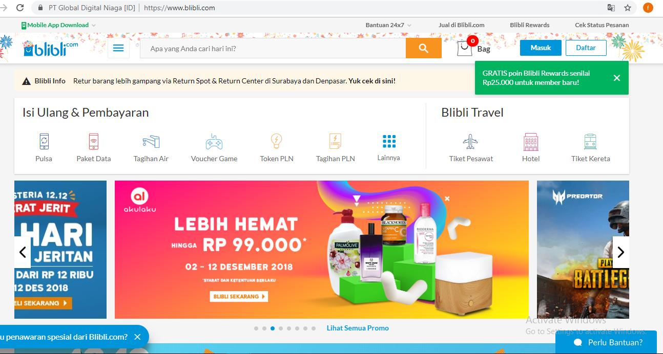 Peringkat Juara 1 10 Website Situs Toko Online Ecommerce Indonesia 2020 Konsumen Digital