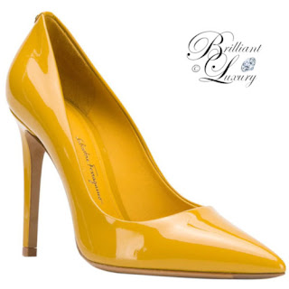 Brilliant Luxury ♦ Pantone Fashion Color Aspen Gold ~ shoes