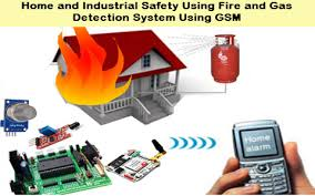 Home And Industrial Safety Using Fire And Gas Detection System