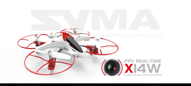 Syma X14W FPV Real time Quadcopter