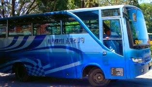 rute, jurusan, dan trayek Bus Puspa Indah Malang