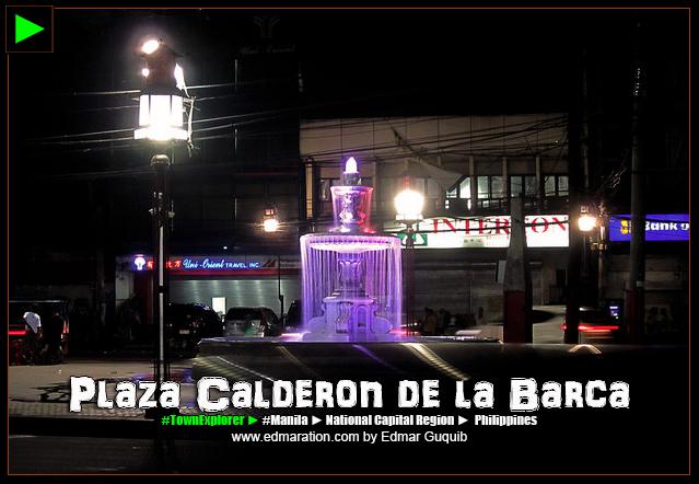 PLAZA CALDERON DE LA BARCA
