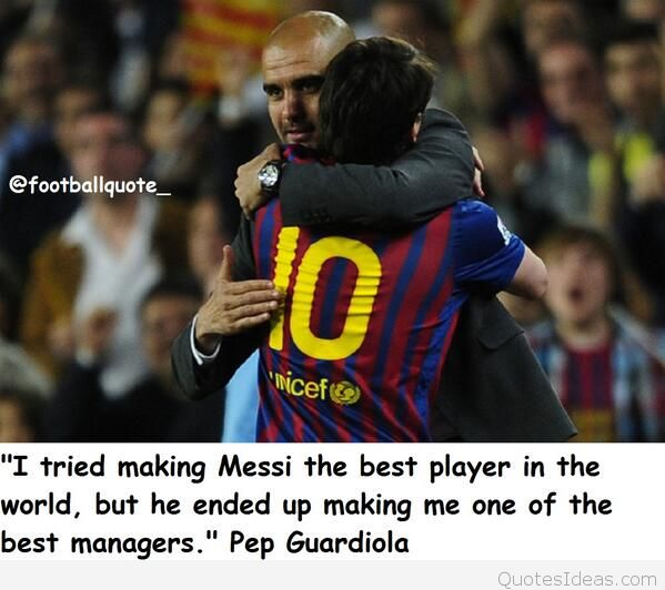 Guardiloa quotes about messi
