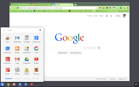 Chrome OS App Launcher