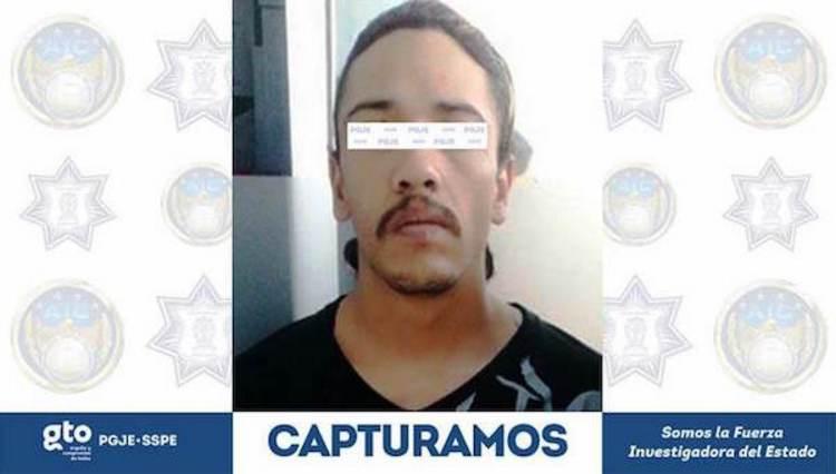 Capturan a gatillero que ejecuto a menor de 3 meses y a su padre en Guanajuato