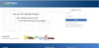 Pengisian SPT Tahunan Pribadi e-filing
