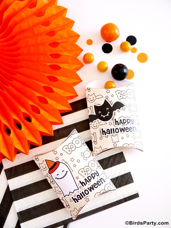 Halloween Free Party Printables - BirdsParty.com