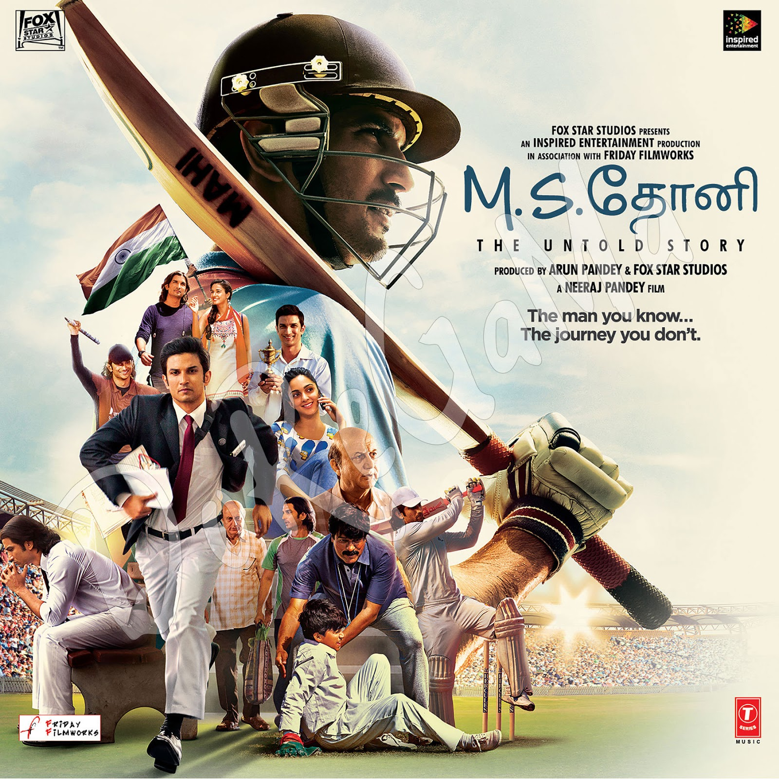 M.S.-Dhoni---The-Untold-Story-Tamil-2016-Original-CD-Front-Cover-Poster-Wallpaper-HD.