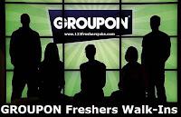 Groupon Freshers Walk-ins
