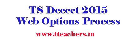 TS Deecet Web Options Process-How To Give Dietcet Web Options