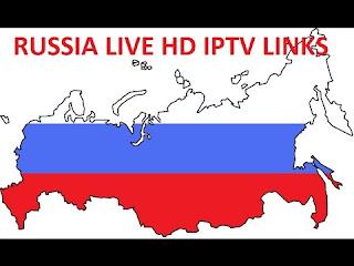 Russia IPTV M3U Kodi VLC
