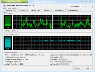 MiTeC Task Manager DeLuxe Portable