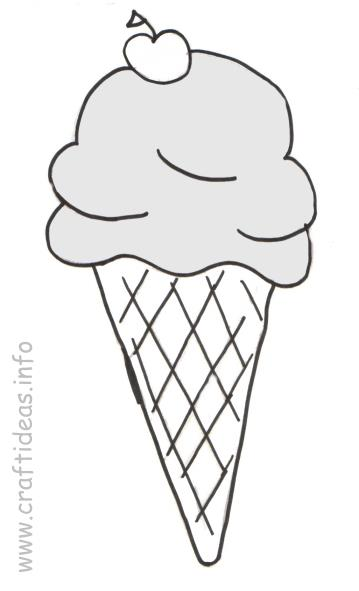 Insane image regarding ice cream coloring pages printable
