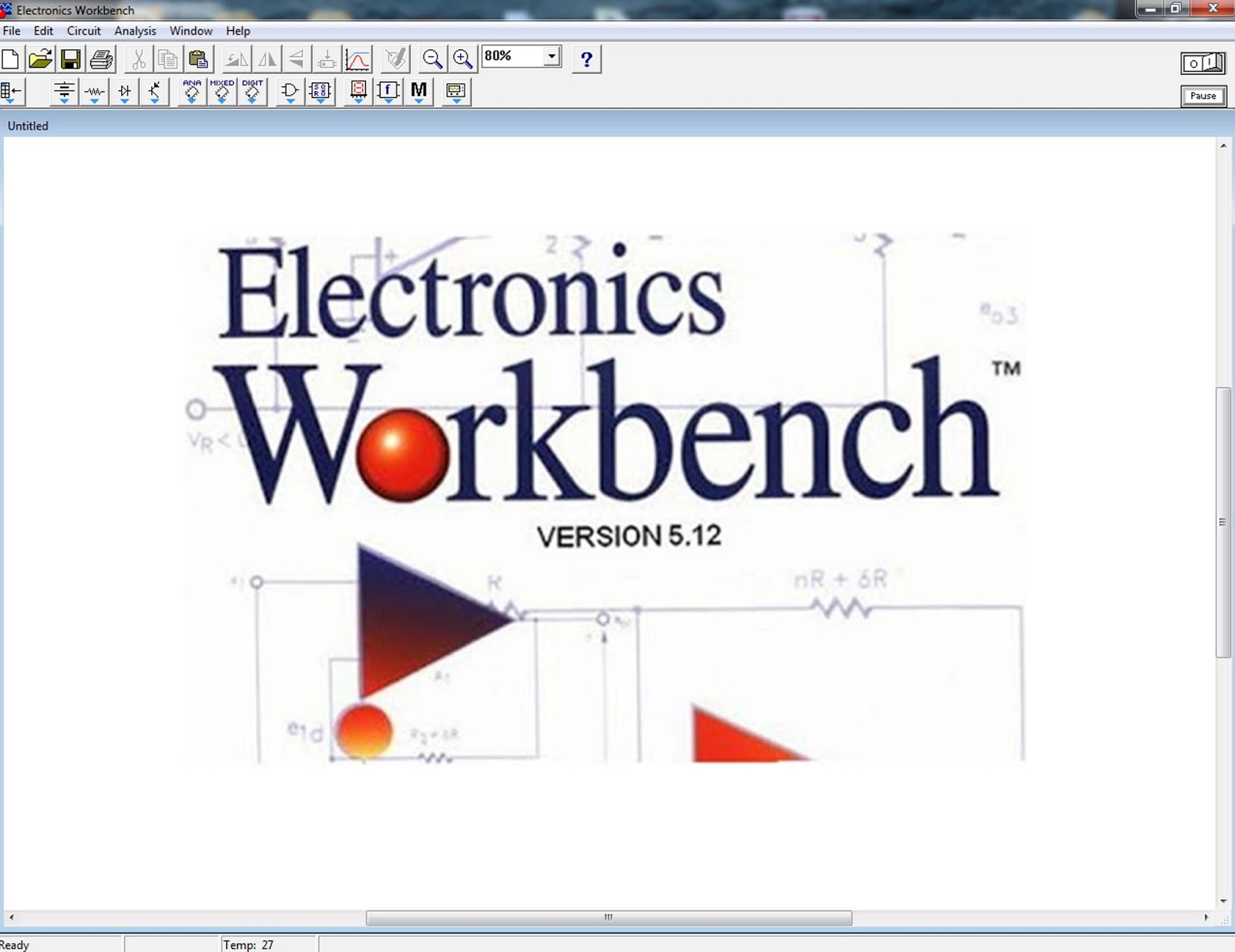 electronic workbench 5.12 gratuit