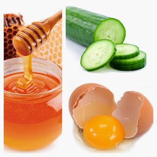 มะนาว + น้ำผึ้ง + แตงกวา = หน้าขาว