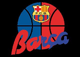 FC Barcelona de Baloncesto escudo antiguo Logo Vector