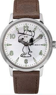 Snoopy watch from TIMEX