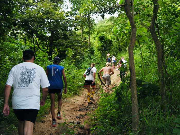 Hash House Harriers, organises hash runs that combines cross country running and treasure hunt.