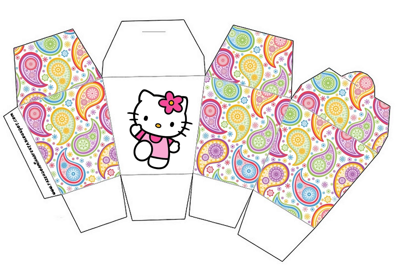 Hello Kitty Free Printable Boxes