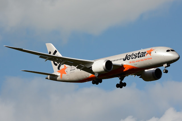 Jetstar Airways, Budget Airline With Boeing 787-8 Dreamliner