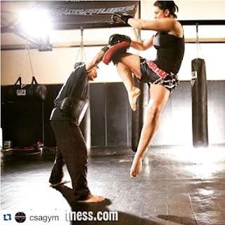 Foto hot Pegulat Wanita Gina Carano