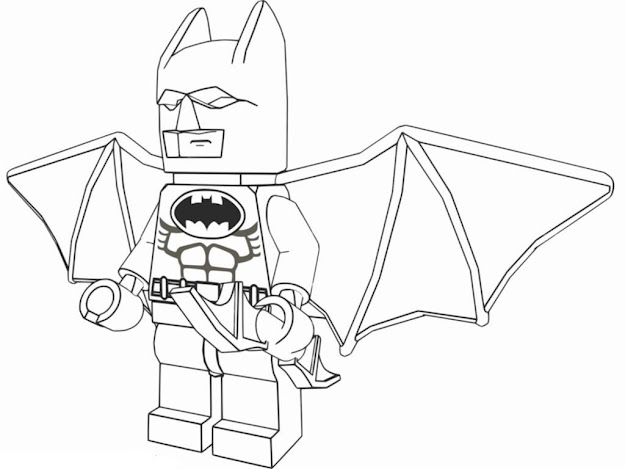 The Lego Movie Free Batman Printable Coloring Page Small Large