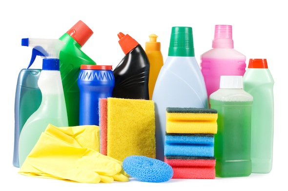 House Held Cleaning Items May Make Kids Overweight