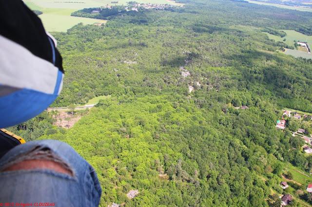 Survol de la Forêt Départementale des Grands Avaux, Essonne, (C) 2012 Greg Clouzeau